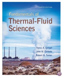 Solution Manual for Fundamentals of Thermal Fluid Sciences 4th Edition by Cengel