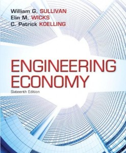Engineering Economy Sullivan 16th Edition Solutions Manual