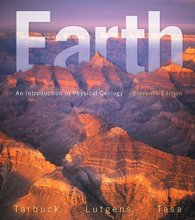 Earth An Introduction to Physical Geology Tarbuck 11th Edition Test Bank