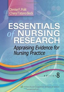 Test Bank For Essentials of Nursing Research Appraising Evidence for Nursing Practice Eighth 8th Edition Denise F Polit