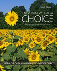 Test Bank for I Never Knew I Had A Choice Explorations in Personal Growth, 9th Edition: Corey