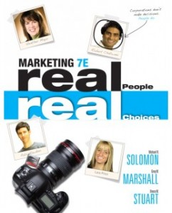 Test Bank for Marketing: Real People, Real Choices, 7th Edition: Michael R. Solomon