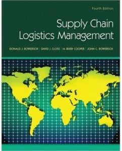 Test Bank for Supply Chain Logistics Management, 4th Edition: Donald Bowersox