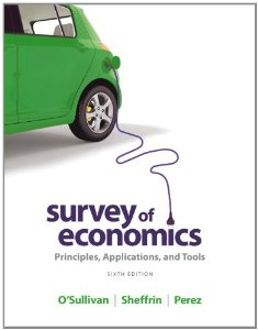 Test Bank for Survey of Economics, 6th Edition : OSullivan