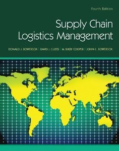 Solution manual for Supply Chain Logistics Management Bowersox Closs Cooper 4th edition