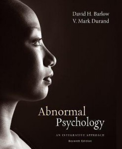 Abnormal Psychology An Integrative Approach Barlow 7th Edition Test Bank