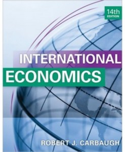 International Economics, 14th Edition Test Bank – Robert Carbaugh