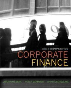 Test Bank for Corporate Finance, 2nd Canadian Edition : Berk