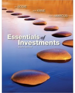 Test Bank for Essentials of Investments, 8th Edition: Zvi Bodie