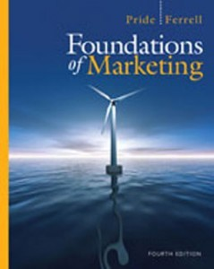 Test Bank for Foundations of Marketing, 4th Edition: Pride