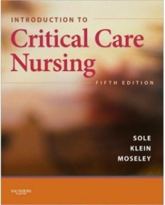 Test Bank for Introduction to Critical Care Nursing, 5th Edition: Mary Lou Sole