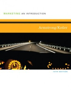 Test Bank for Marketing An Introduction, 10th Edition: Armstrong