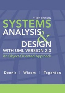 Test Bank for Systems Analysis and Design, 3rd Edition: Dennis