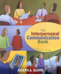 Test Bank for Interpersonal Communication Book, The, 13/E 13th Edition Joseph A. DeVito