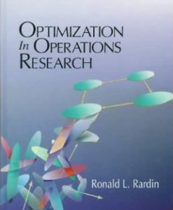 Solution Manual for Optimization in Operations Research Ronald L. Rardin