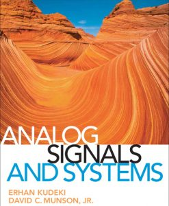 Solution Manual for Analog Signals and Systems by Kudeki