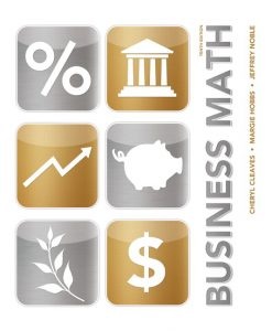 Solution Manual for Business Math, 10/E Cheryl Cleaves, Margie Hobbs, Jeffrey Noble