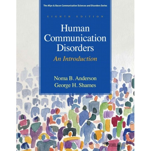 Test Bank for Human Communication Disorders: An Introduction, 8/E 8th Edition : 0137061331