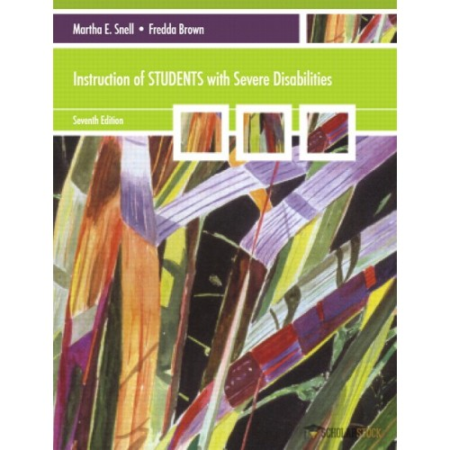 Test Bank for Instruction of Students with Severe Disabilities, 7/E 7th Edition : 0137075464