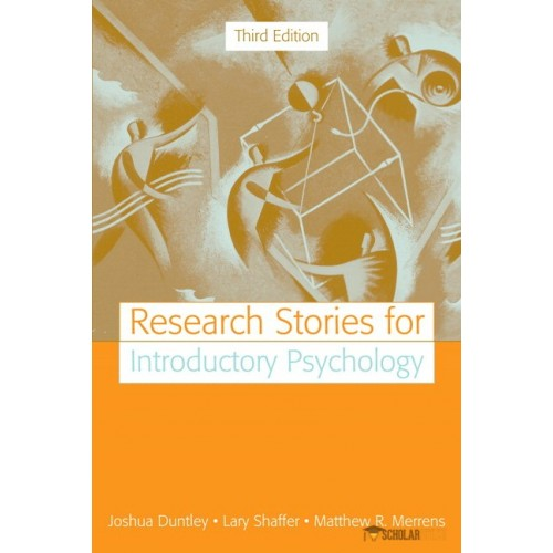 Test Bank for Research Stories for Introductory Psychology, 3/E 3rd Edition : 0205520650
