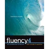 Solutions Manual to accompany Fluency with Information Technology 4th edition 9780136091820