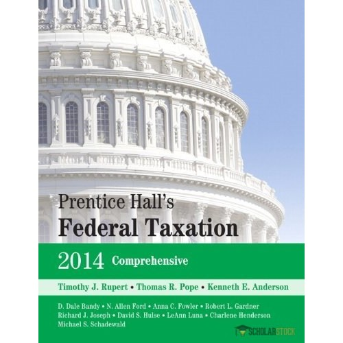 Solution Manual for Prentice Hall's Federal Taxation 2014 Individuals, 27/E 27th Edition : 0133539687