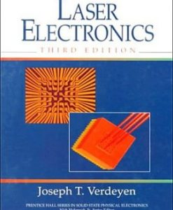 Solution Manual for Laser Electronics, 3/E 3rd Edition Joseph T. Verdeyen