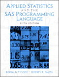 Solutions Manual to accompany Applied Statistics and the SAS Programming Language 5th edition 0131465325