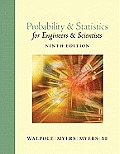 Solutions Manual to accompany Probability and Statistics for Engineers and Scientists 9th edition 0321629116