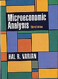 Solutions Manual to accompany Microeconomic Analysis 3rd edition 9780393957358