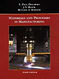 Solutions Manual to accompany Materials and Processes in Manufacturing 9th edition 9780471033066