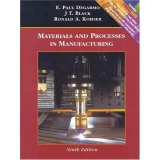 Solutions Manual to accompany Materials and Processes in Manufacturing Update 9th edition 9780471656777