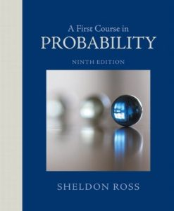 A First Course in Probability Ross 9th Edition Solutions Manual