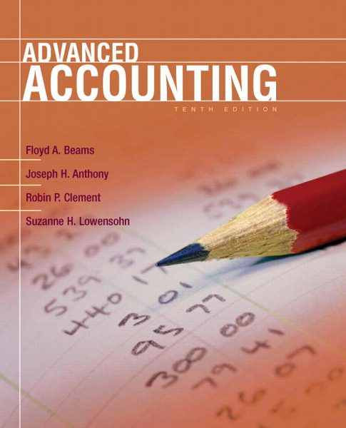 Solution Manual for Advanced Accounting 10th Edition by Beams