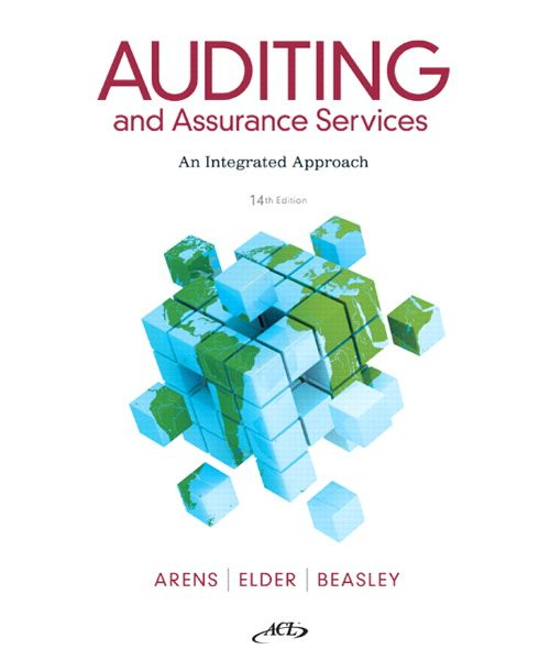 Test Bank for Auditing and Assurance Services 14th Edition by Arens