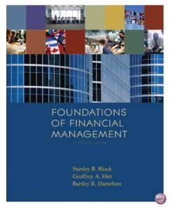 Solution Manual for Foundations of Financial Management 14th Edition by Block