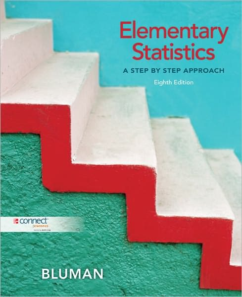 Test Bank for Elementary Statistics: A Step-By-Step Approach, 8th Edition by Bluman
