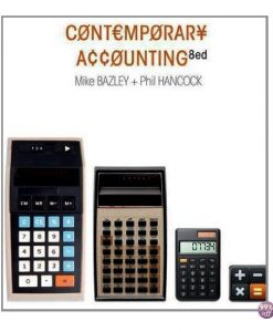 Solution Manual for Contemporary Accounting 8th Edition by Bazley