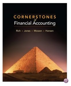 Test Bank for Cornerstones of Financial Accounting 2nd Edition by Rich