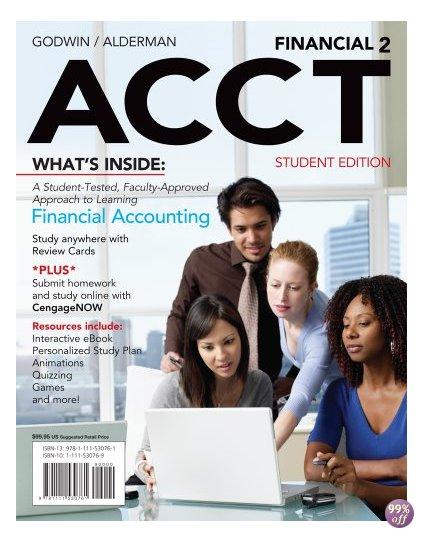 Solution Manual for Financial ACCT2 2nd Edition by Godwin