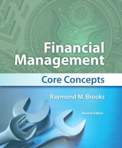 Test Bank for Financial Management Core Concepts 2nd Edition by Brooks