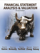 Solution Manual for Financial Statement Analysis and Valuation 2nd Edition by Easton