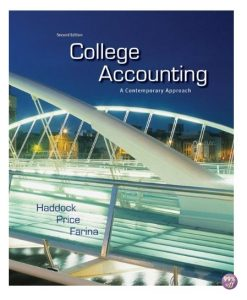 Solution Manual for College Accounting A Contemporary Approach 2nd Edition by Haddock