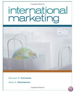 Test Bank for International Marketing 9th Edition by Czinkota