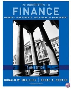 Test Bank for Introduction to Finance Markets Investments and Financial Management 14th Edition by Melicher