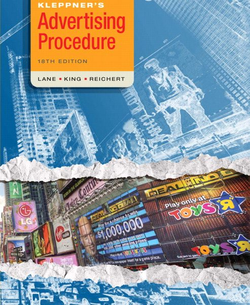 Test Bank for Kleppners Advertising Procedure 18th Edition by Lane