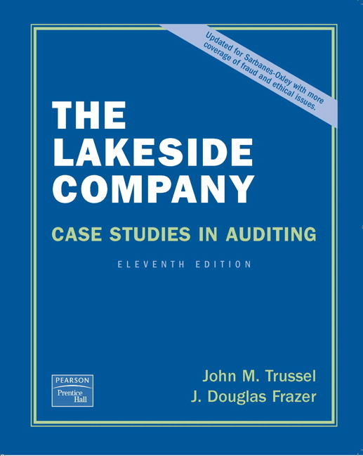 the lakeside company auditing cases 1
