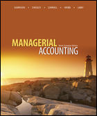 Solution Manual for Managerial Accounting 9th Canadian Edition by Garrison
