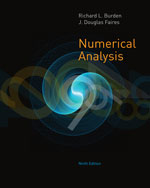 Solution Manual for Numerical Analysis, 9th Edition Richard L. Burden, J. Douglas Faires