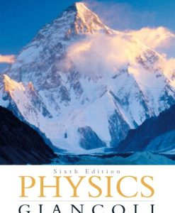 Solution Manual for Physics Principles with Applications 6th Edition by Giancoli